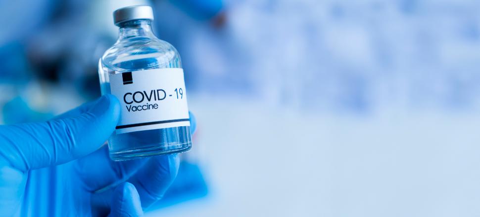 Vial of vaccine